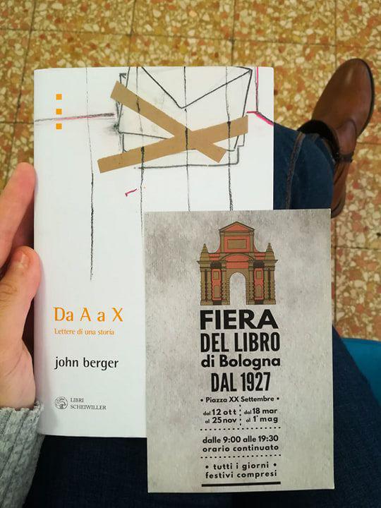 Lettere d'amore: Da A a X di John Berger