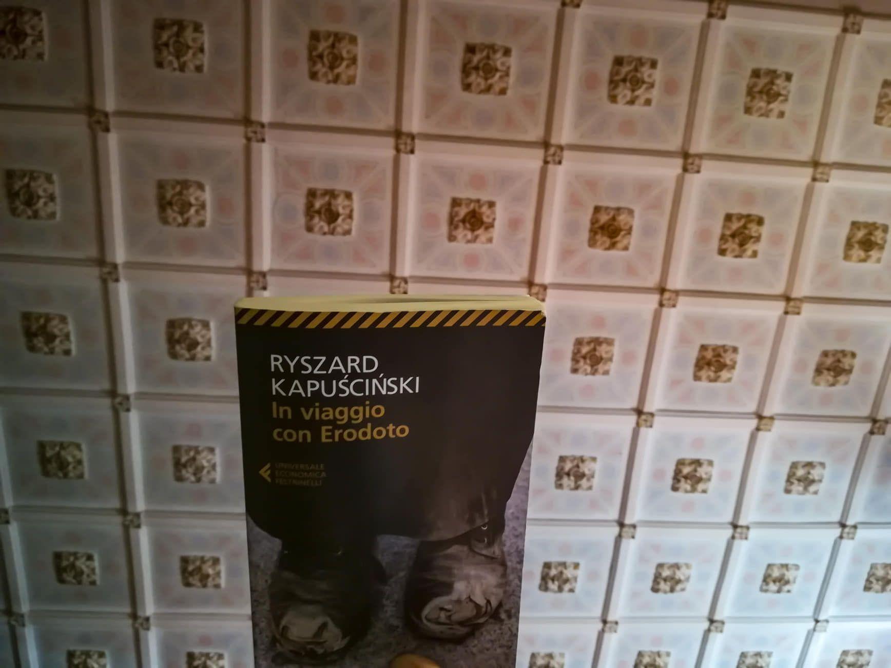 In viaggio con Erodoto di Ryszard Kapuściński