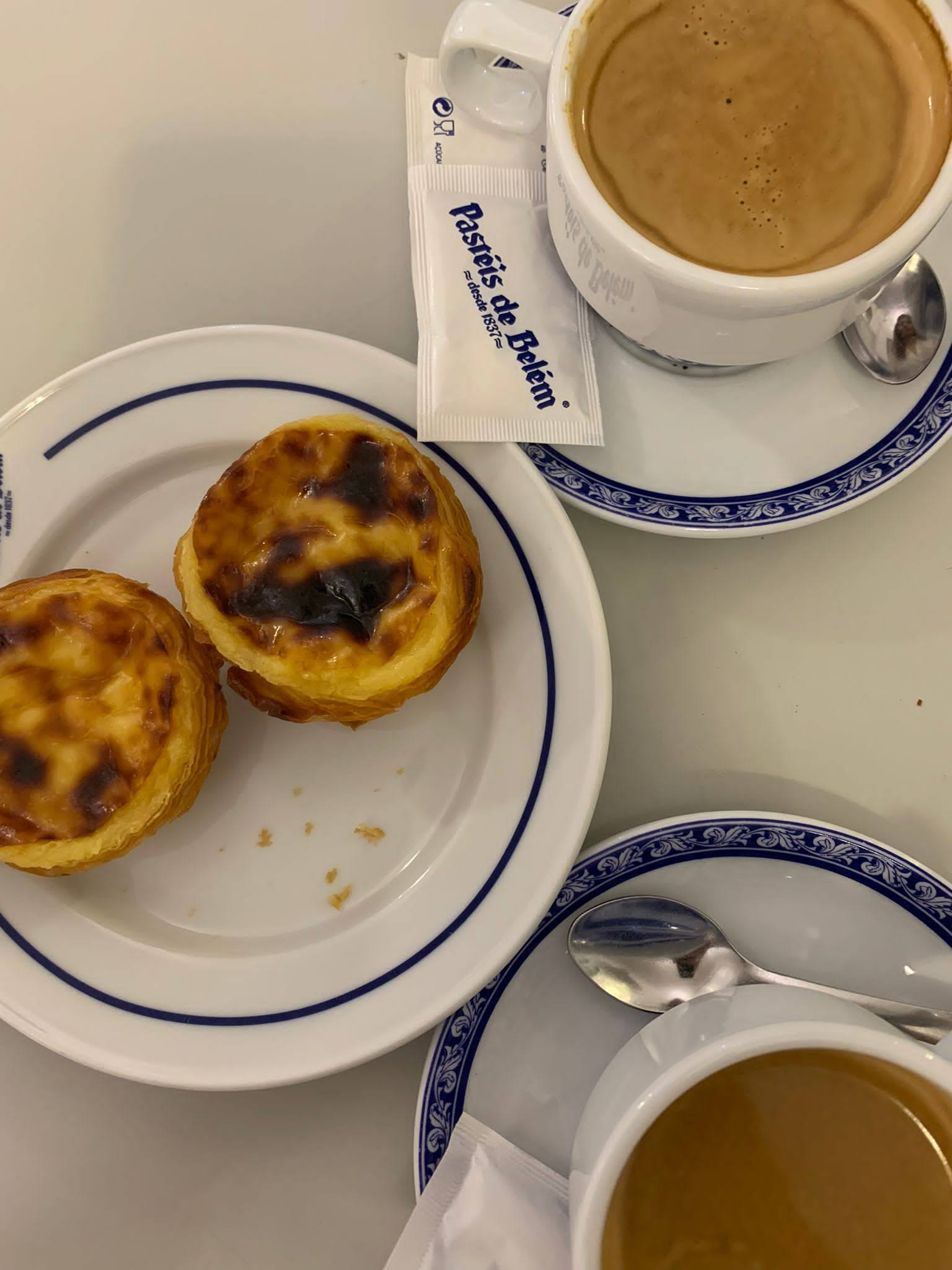 Lisbona, pastéis de Belém